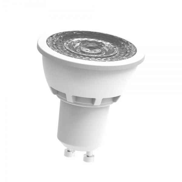 Lige ud SG 6W LED 2700K HVIT 36D - led-spot.no KB74