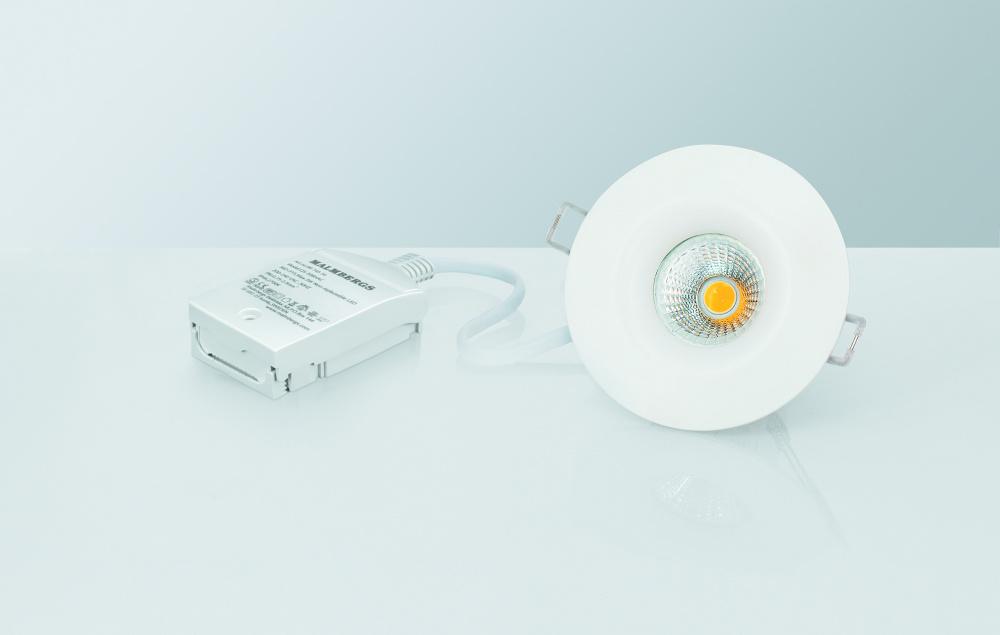 DOWNLIGHT MD 541, LED, 10X6W, 230V, AC CHIP, 10 PK led spot.no